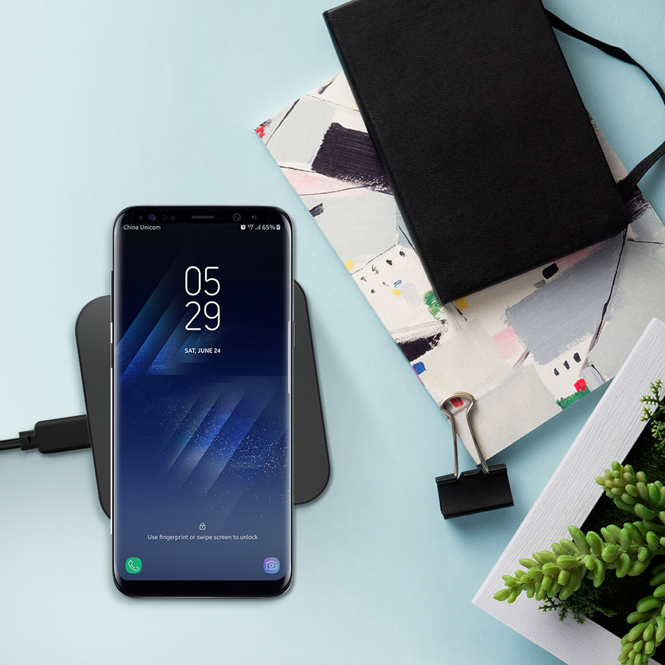For Samsung Galaxy A8 A8+ 2018 A530F A730F Charger Wireless Charging