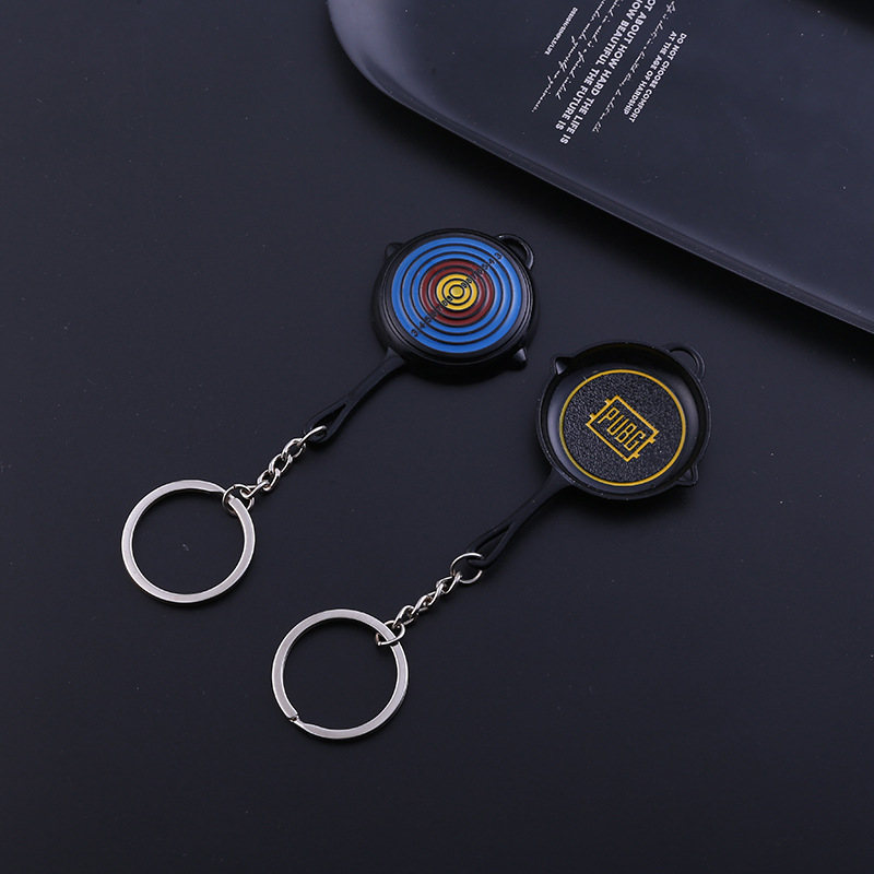 Bullseye Pan Keychains (12)