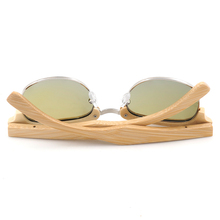 Vintage Style Wooden Sunglasses For Women