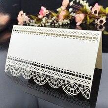 10Pcs Laser Cut Wedding Table Card Wedding Seat Card Table Name Card Place Card Wedding Party Decoration Favor 5ZSH224