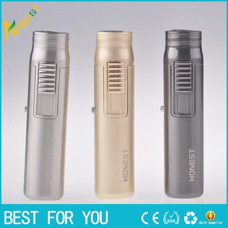 100pcs Lot Jet Lighter Torch Inflatable New Mini Windproof Gas Butane Lighters