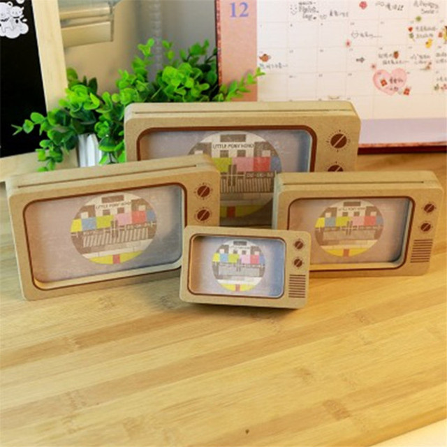 3567 Inch Photo Frame Vintage Tv Shaped Picture Frames Creative