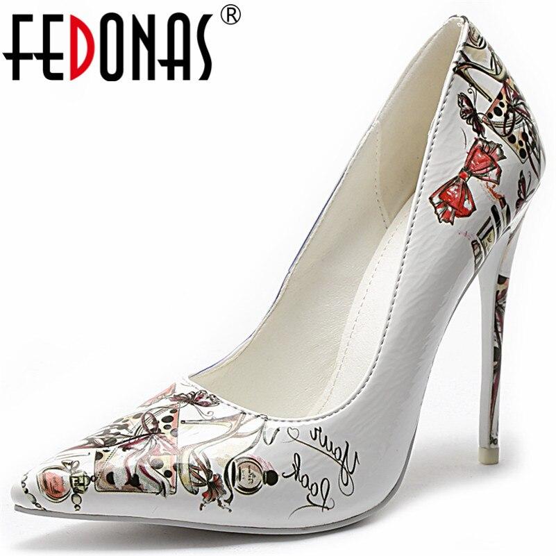 Femmes Fedonas Bal Talons Sexy Mode Base Femme Parti Nouvelle Mariage 1 Élégant Danse Pointu De Pompes Hauts Bout Chaussures gxrqgnI