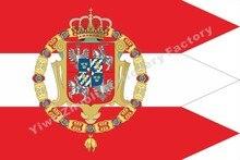 Польский-литовский Королевский флаг Содружества 1587 120x96 см (3x5 футов) г 100D полиэстер Высокое качество Бесплатная доставка