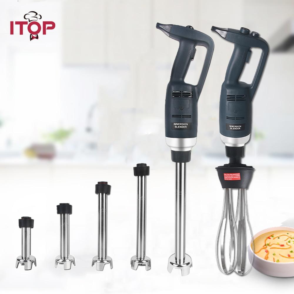 ITOP 500 W mélangeur d'immersion à grande vitesse Commercial mélangeur à main robuste Smoothie mélangeur alimentaire processeurs alimentaires 110 V/220 V