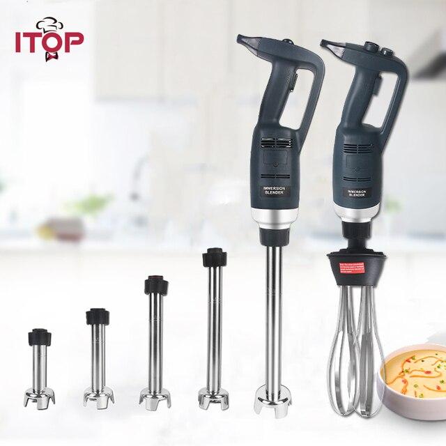ITOP 500W High Speed Immersion Mixer Handels Heavy Duty Handheld Mixer Smoothie Mixer Küchenmaschinen 110V/220V