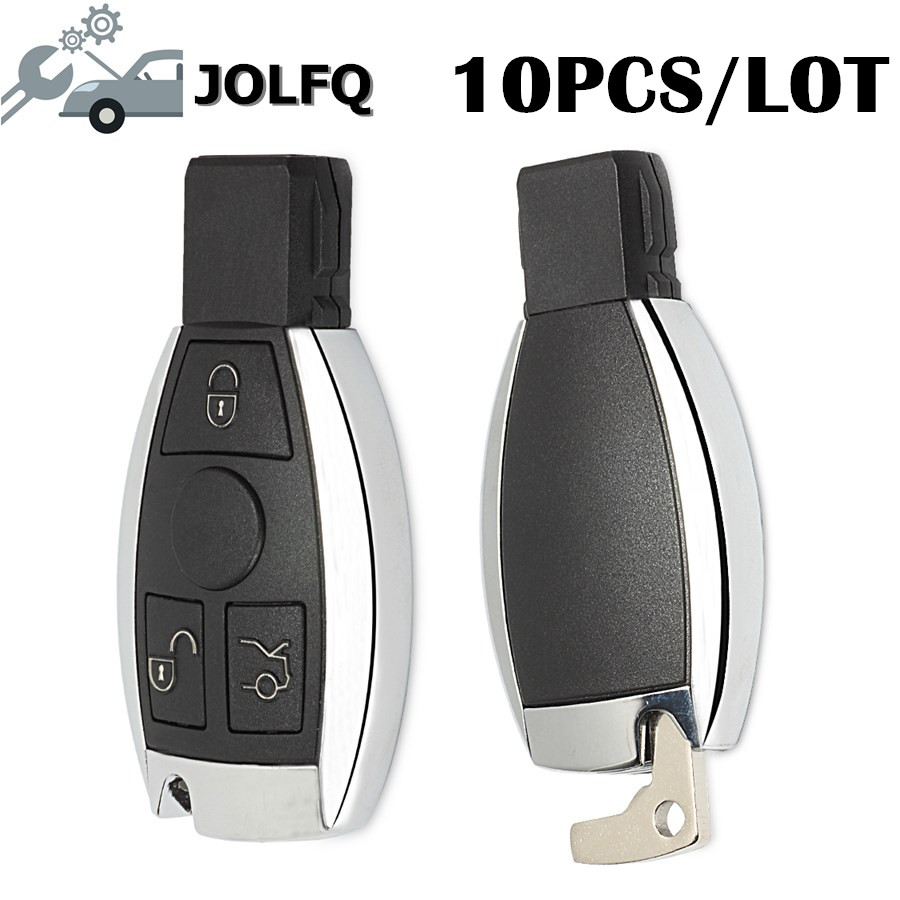 Free DHL 10PCS LOT Smart Car Key for Mercedes Benz Support NEC And BGA 2000 Year
