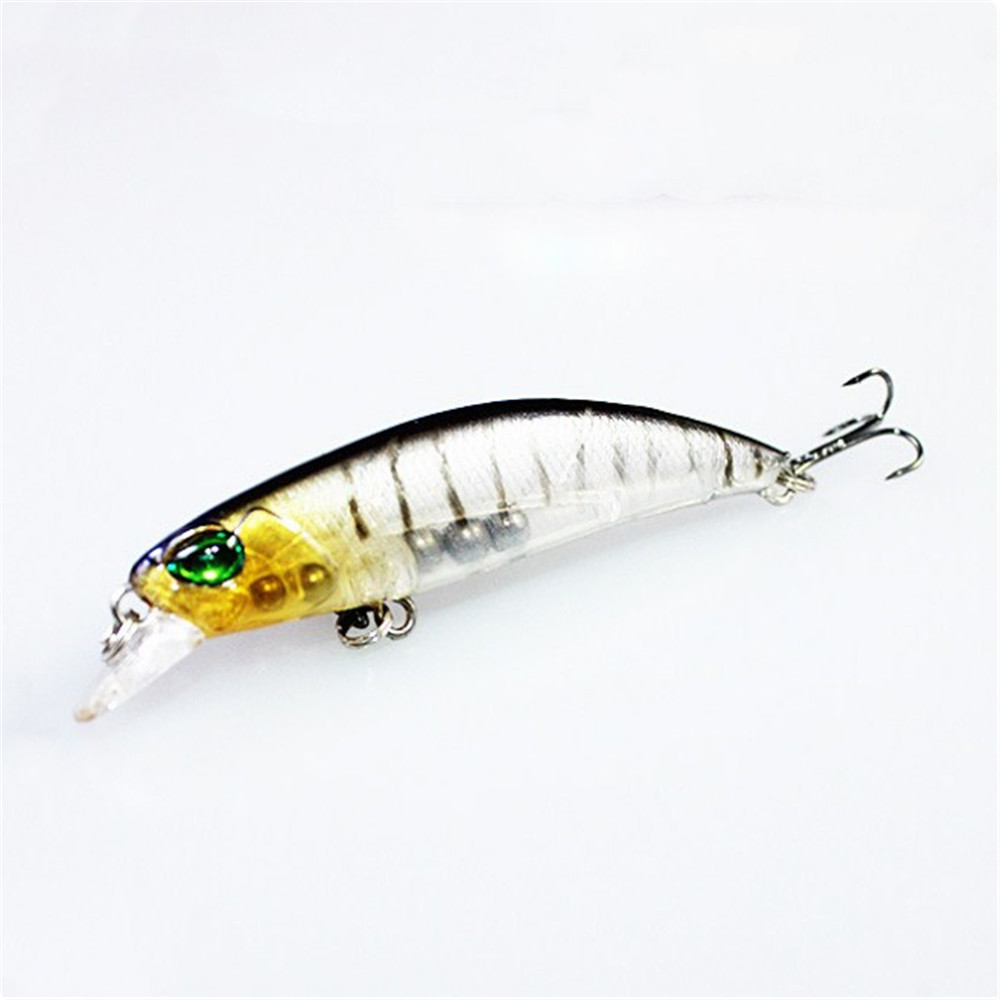 1pcs 6.8cm 4.2g Artificial Hard Bait Minnow Fishing Lures Wobbler Crankbait Floating 8# Treble Hook Bass Pike Swimbait Pesca