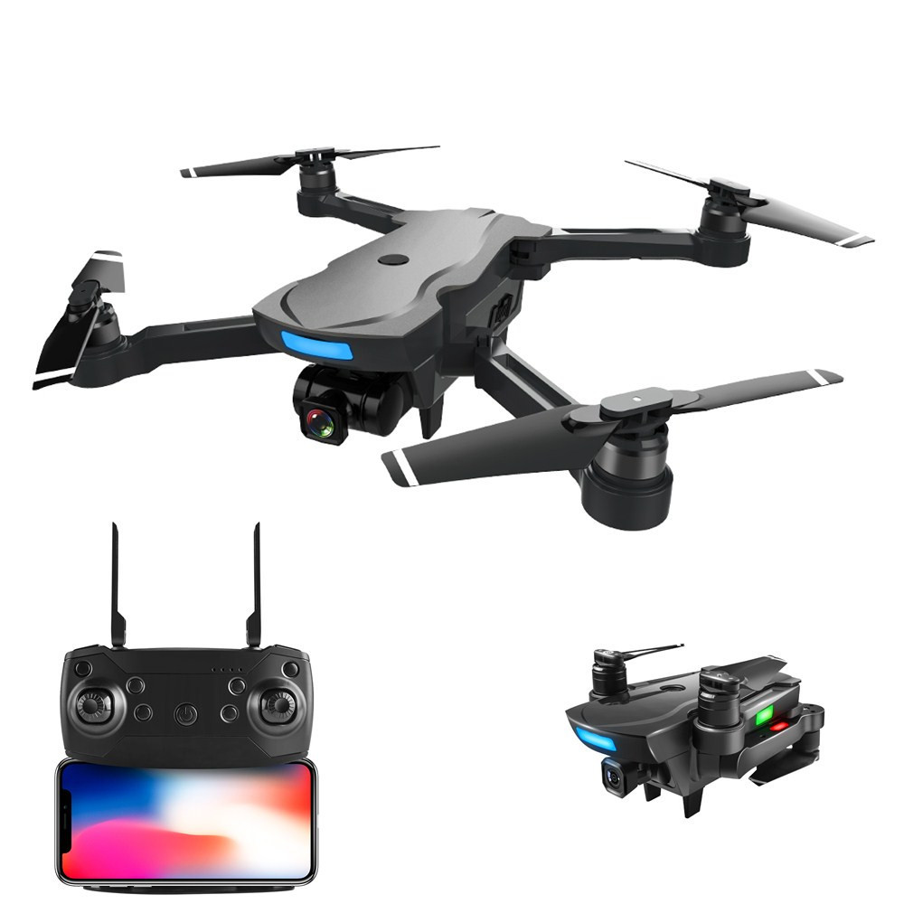 2018 WIFI FPV Auto Follow GPS RC Racing Drone 1000M 20Mins Brushless Motor 1080P HD Camera WIFI FPV RC Quadcopter VS X8PRO B5W