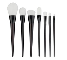 Moda Hot 7 pcs Cosmetic Makeup Brushes Set Pó Fundação Sombra Delineador Lip Brush Tool