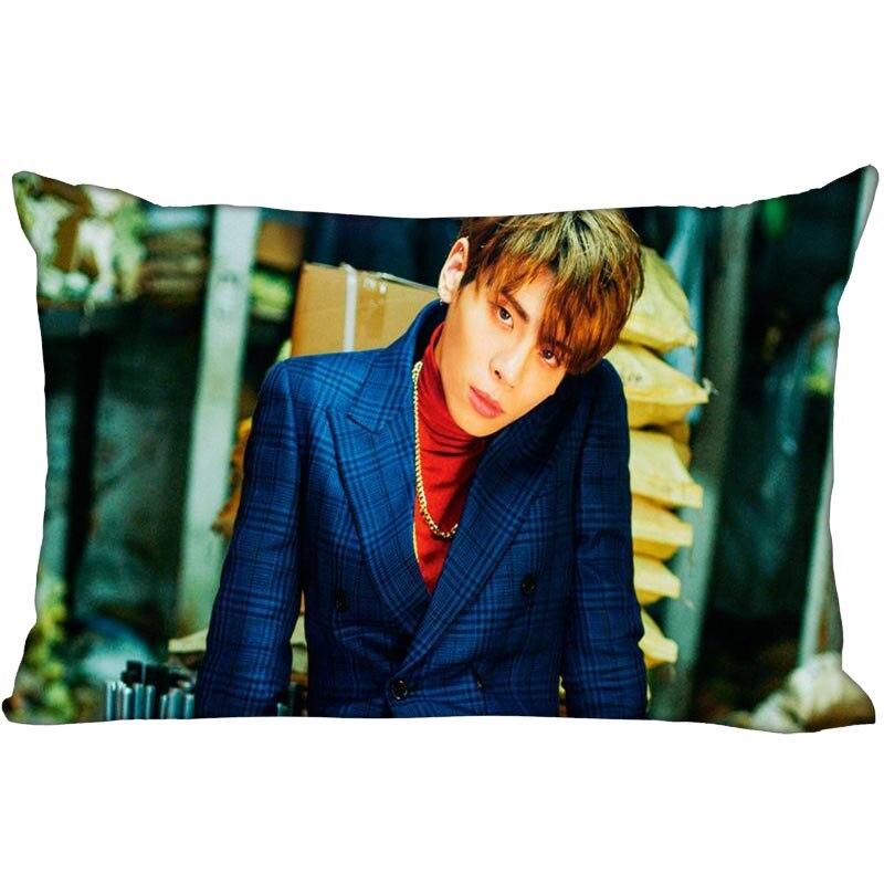 Hot KPOP SHINee Kim Jonghyun Pillowcase Decorative PillowCover Zipper Pillowcases Satin Custom your image more size|Pillow Case| |  - title=