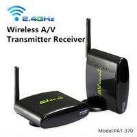 2016 New PAT 370 2 4GHz 500m Wireless AV A V Audio Video Sender Transmitter And