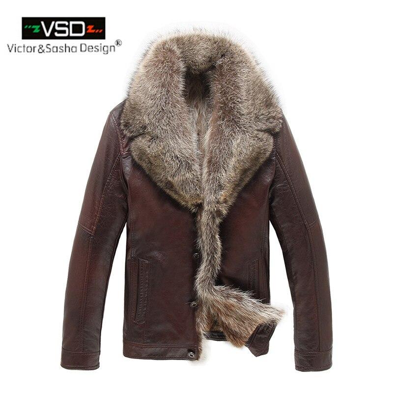 Aliexpress.com : Buy Hot Sale Italian Leather Jacket Coat Wool ...
