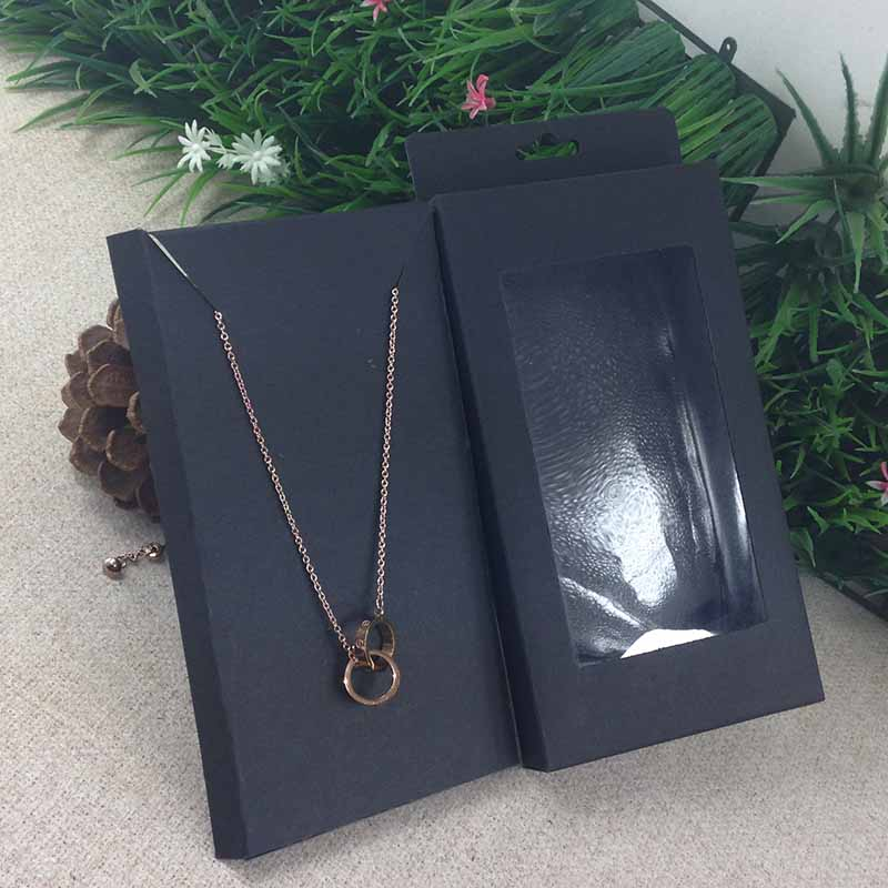 Image 3 - 2016  New Necklace Card Box   1Lot =50box  50 pcs inner Card  18x10x2cm Necklace Box Gifg BOX  Pendent  Box / Earring Casependente  boxeearrings casenecklace box