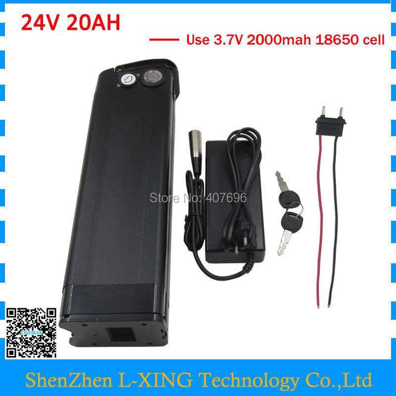 Rechargeable 500W 24V 20AH lithium battery 24 V 20AH battery 24V 7S 18650 battery pack 30A BMS with USB Port 29.4V 3A Charger liitokala 6s6p 24v 25 2v 12ah battery 18650 lithium ion battery portable backup power pcb 24v 25 2v 1a battery charger