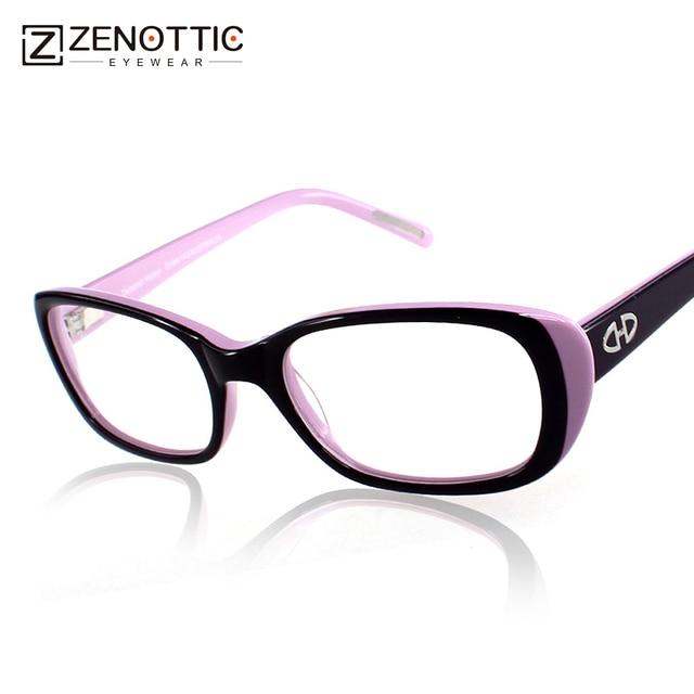 4d38f428f63 Hot Sale! 2018 fashion design lady style full rim acetate optical ...