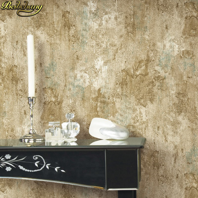 beibehang Vintage cement wall Wallpaper for wall papers home decor 3D Embossed Wallpapers for Living Room