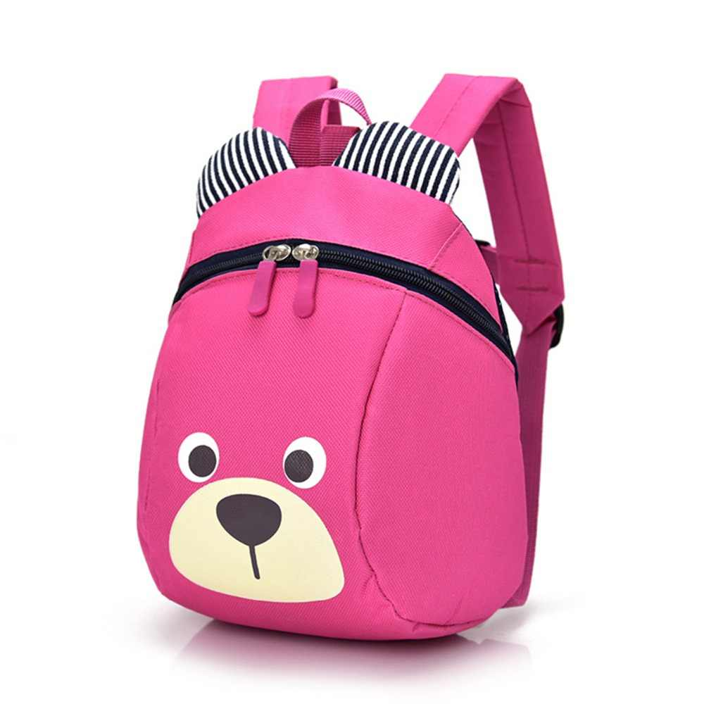 Stroller Accessories cartoon bear backpack anti lost children Toys Plush bag girls boys kids Backpacks baby cute safety bags fun