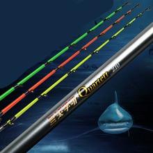 Boat fishing rod 1 pcs/Lot super hard 1.8/2.1/2.4/2.7 m heavy pole telescopic fishing rod