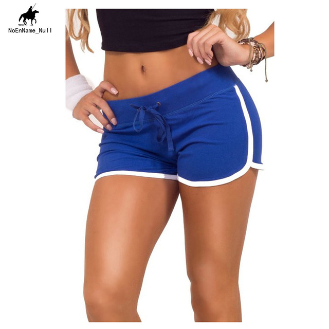 d1a63a4940 Women's NoEnName_Null Fitness Sports Training Shorts Women's Yoga Shorts  Summer Large Size Cotton Sportswear Max Size L 17