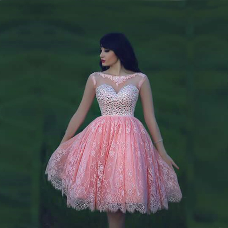 Short Hot Pink Prom Dresses - Plus Size Tops