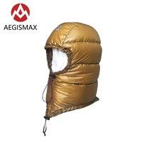 AEGISMAX Goldene HUT Im Freien Bergsteigen Camping Ultraleicht Unten Hut Unisex Winddicht Warme Hut