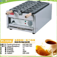 free shipping Japanese 6 mould tayaki maker electric taiyaki machine