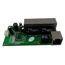 mini 5 port 10/100mbps community swap 5-12v extensive enter voltage sensible ethernet pcb rj45 module with led built-in