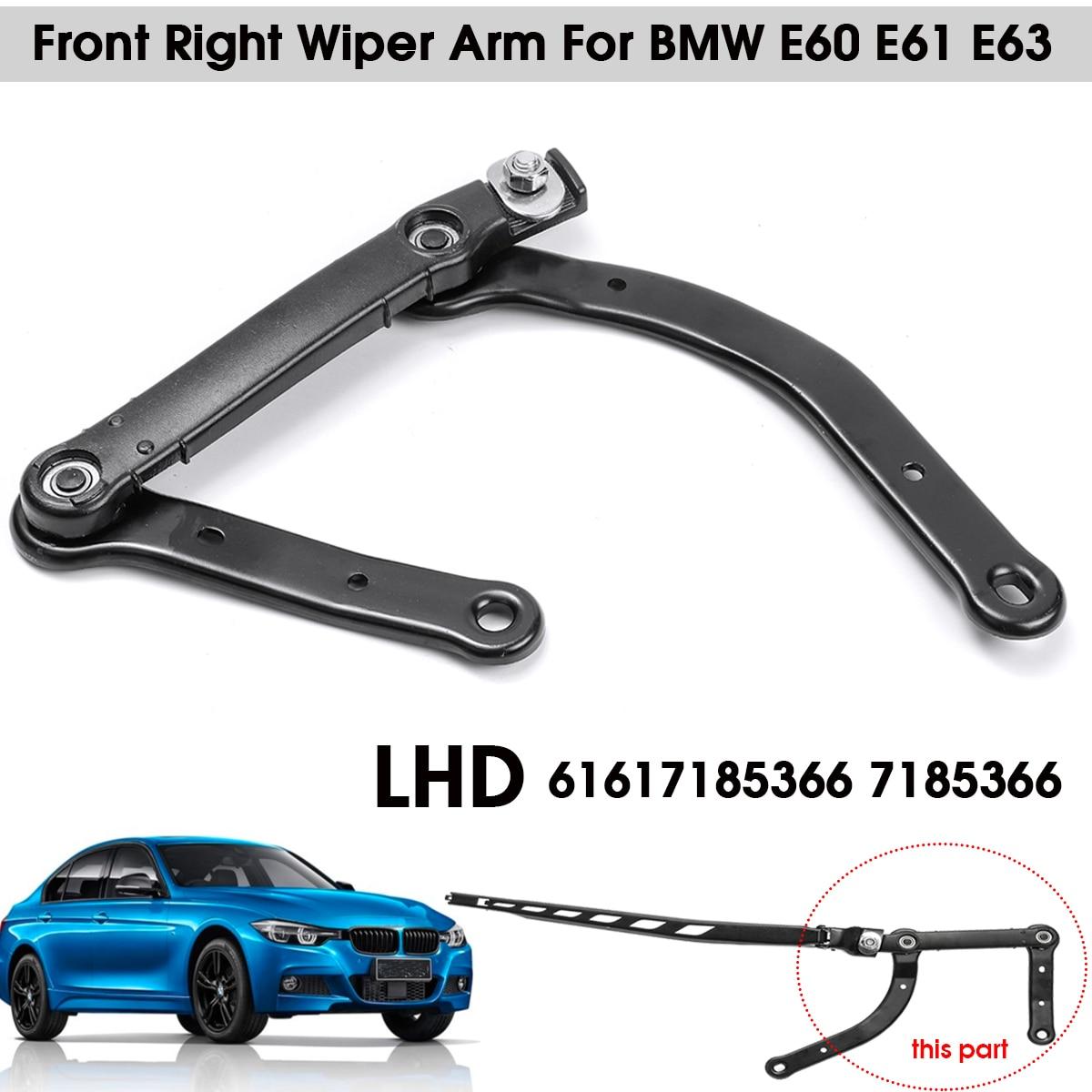 Front Wiper Arm LHD Left Hand Drive For BMW E60 E61 E63 E64 61617185366 7185366