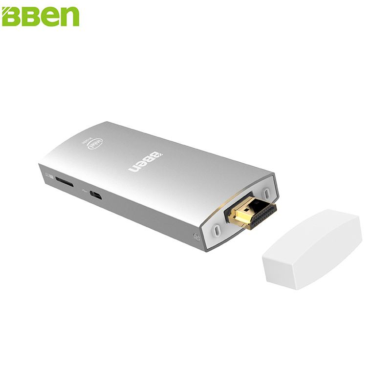 Bben mini pc intel z8350 mini pc de windows 10 y android 5.1 quad core ram 2g ro