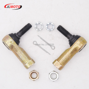 Image 3 - 1Pair M12 Tie Rod End Kits Ball Joints Fit For HiSUN Can Am Polaris Renegade Outlander L MAX 400 500 570 650 800R 1000  Bennche