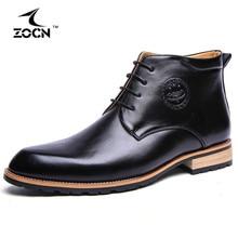 4 Farben Winter Männer Stiefel Rindspaltleder Stiefel Männer schuhe Pelz Ankle Cowboy Stiefel Für Männer Winter Schuhe Chaussure Homme