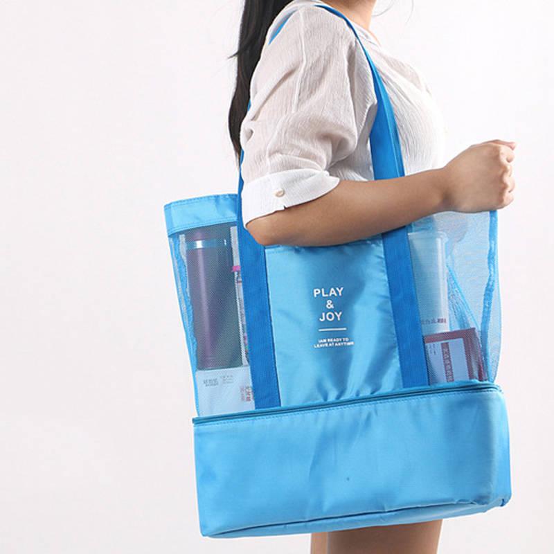 Shopper Bag Handbags Minimalist Large-Capacity Women's Big Ladies Female for Picnic Outdoor