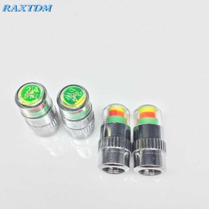 Car Tire Air Pressure Valve Stem Caps Sensor Indicator For Mini Cooper R53 R55 R56 R57 R58 R59 R60 R61 For Porsche Cayenne Macan