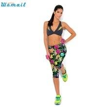 Прочный 2016 Мода Высокая Талия calzas deportivas mujer фитнес Брюки Леггинсы фитнес леггинсы(China (Mainland))