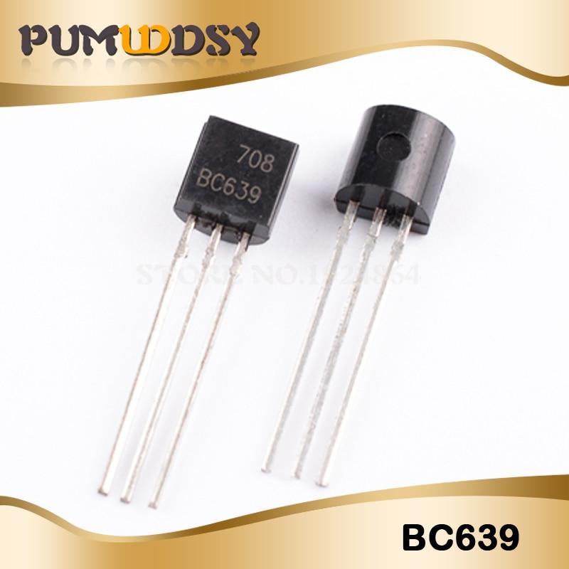 100PCS Transistor BC640 BC639 TO92  New Triode Transistor IC