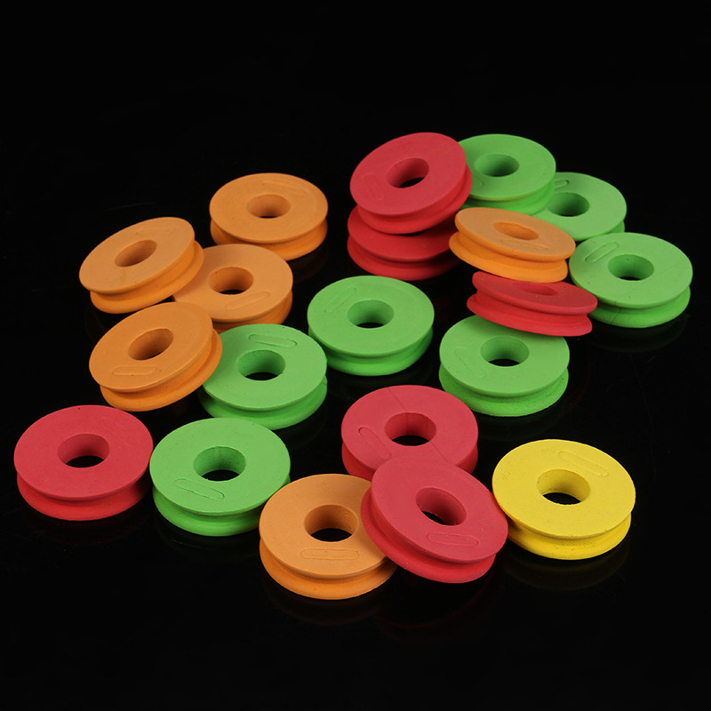 10 Pcs Foam Winding Main Coil Board Plate Fishing Line Wire Rotating Dash Facing Fishing Tool Box New Fishing Spool Fishing Gear