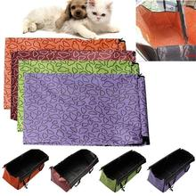 Pet Dog Cat Car Rear Back Seat Carrier Cover High Quality Pet Dog Mat Blanket Cover Mat Hammock Cushion Protector 4 Colors pet carriers oxford fabric pet car seat cover dog car back seat carrier waterproof pet mat hammock cushion protector