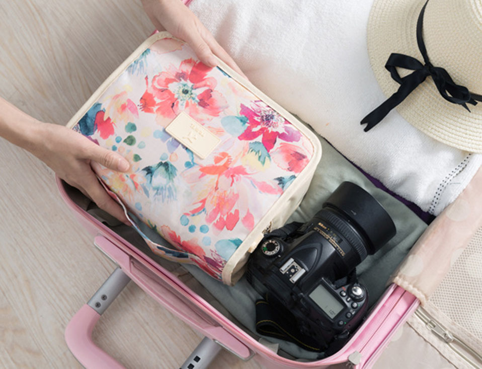 Women Travel organizer large Capacity Cosmetic Bag Waterproof Make up bag Men Bathroom Toiletry Hanging storage Bags             (10)
