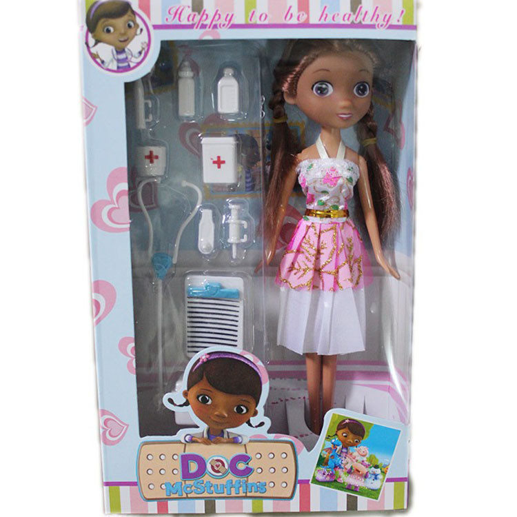 Disney Movie Cartoon Doc Mcstuffins Clinic Doctor Set Girls Doll Birtyday Party Toys For Girl Gift Color randomly струна для срезки стекол jonnesway ab010013