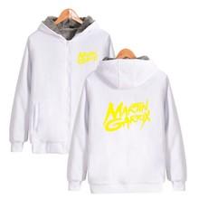ALIZAZA Martin Garrix Sweatshirt Hot DJ GRX Winter High Quality Cotton Sweatshirts Pullover Hoodies Men XXS-4XL THICKEN