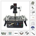 LY IR6500 BGA Rework Station with 810 pcs Directly Heating D-H Stencil Kit Pack