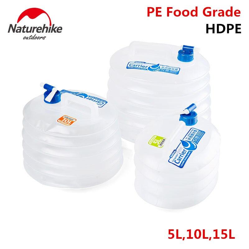 Naturehike Außen Faltbare Wasser Container Folding Eimer Lagerung PE Lebensmittelqualität Wandern Camping wassertank faltbare wasserbeutel