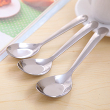 Creative Thick Stainless Steel Tableware Spoon Children Soup Spoon Tablespoon