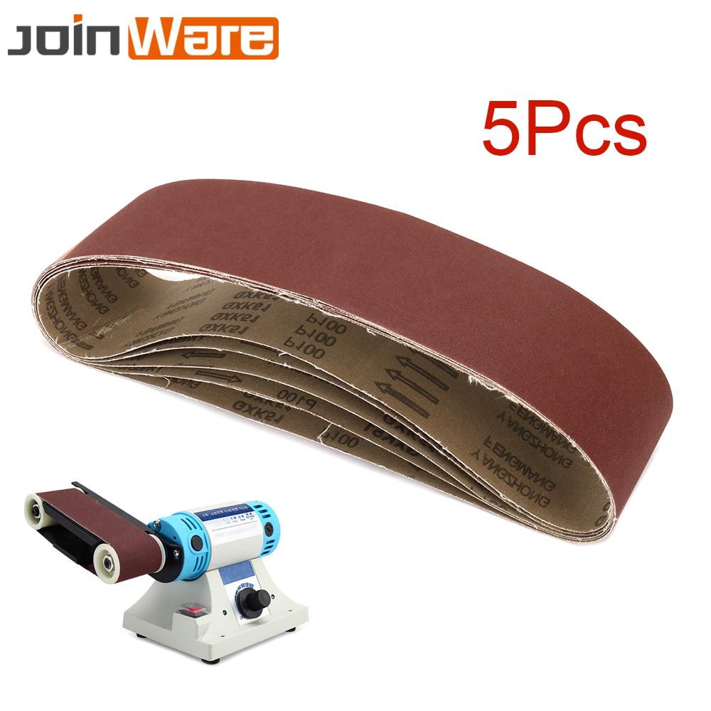 5Pcs Sanding Belt 4