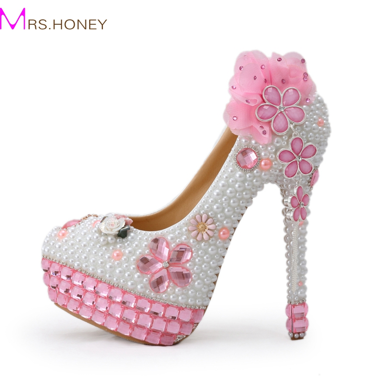 Popular Pink Bling High Heels-Buy Cheap Pink Bling High Heels lots ...