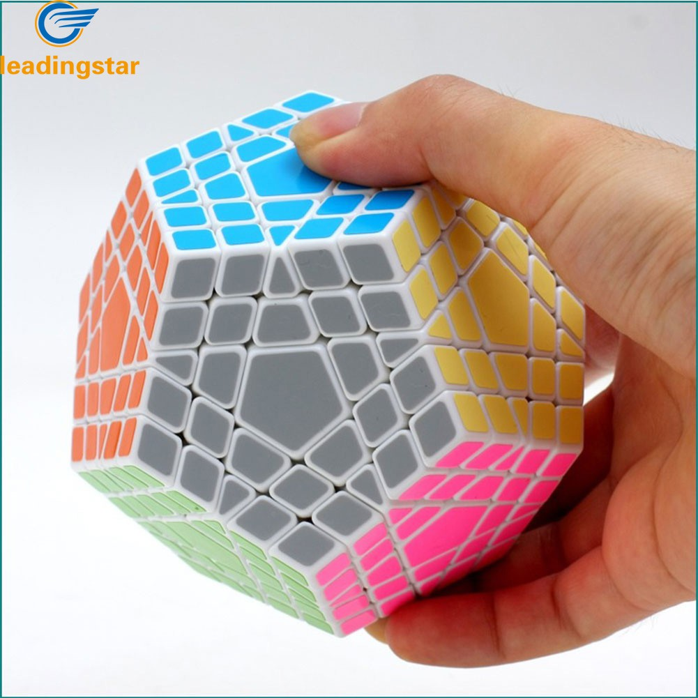 LeadingStar Fifth order Cube Five Layers Dodecahedron Puzzle Cubes Brain Teaser Cubo Magico Cube zk30 qy394 5 3x3x3 professional three layers magic rubik cube brain teaser