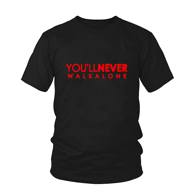 You'll Never Walk Alone T-shirt Liverpool For Fans All Champions 2018 Fashion Men's Brand Clothing Male O Neck Streetwear Tshirt