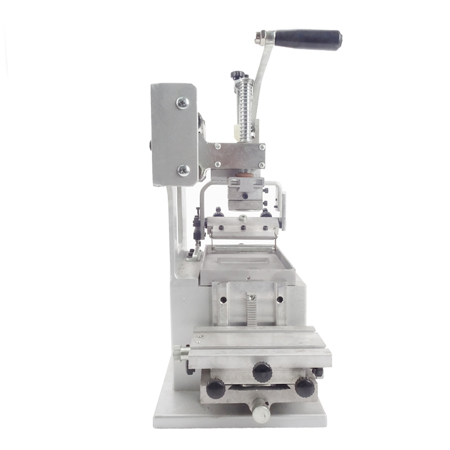 1PC Manual pad printing  equipment company logo printer machinery single color oil stamping printer design die board pad head 300 aaron printing doctor blade for printing machinery w30 40mmxt0 2mmxl100m