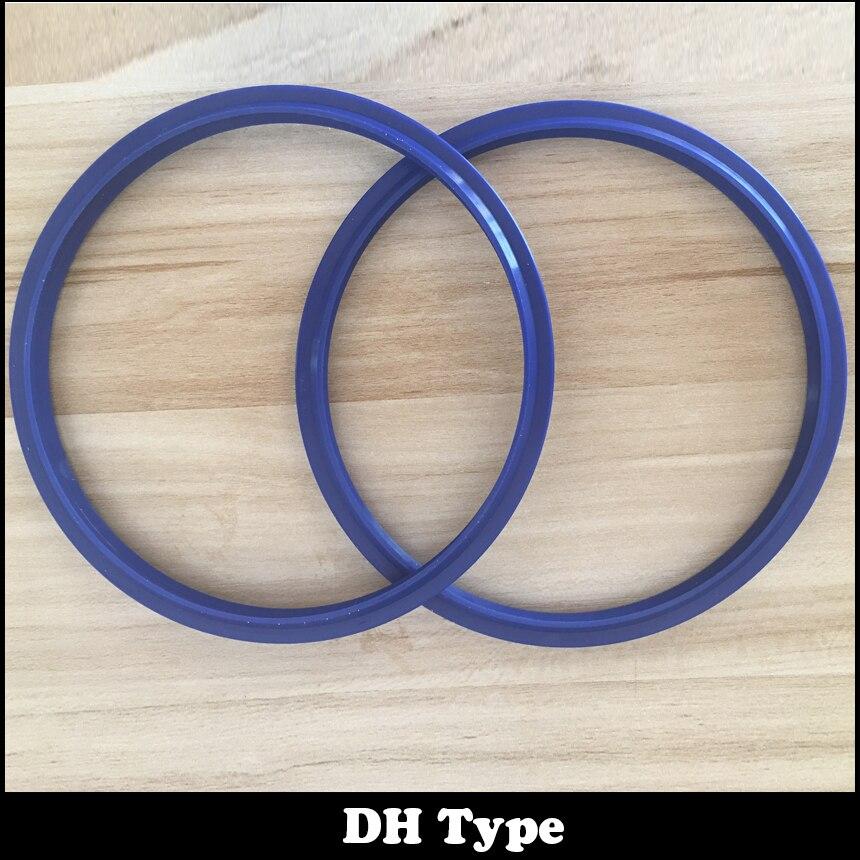 7pcs DHS 55*63 55x63 56*64 56x64 58*66 58x66 60*68 60x68 Blue Ring Gasket Scraper Wiper Dustproof Pneumatic Rod Piston Oil Seal lifan 620 wiper with rod wiper rod